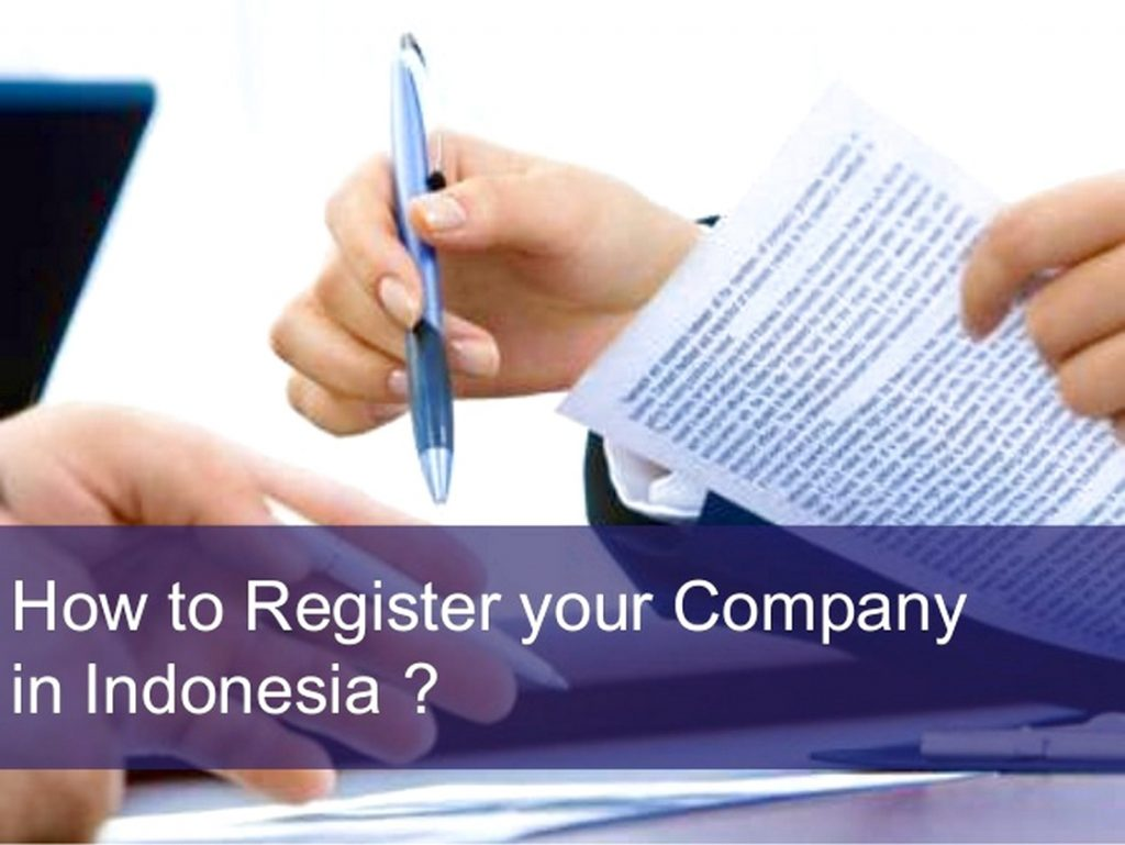 Indonesia company registration