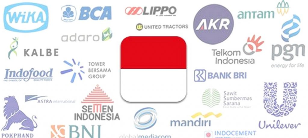 Indonesia registered companies